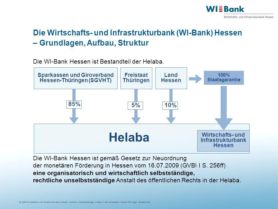 Helaba Die Wirtschafts- und Infrastrukturbank (WI-Bank) Hessen