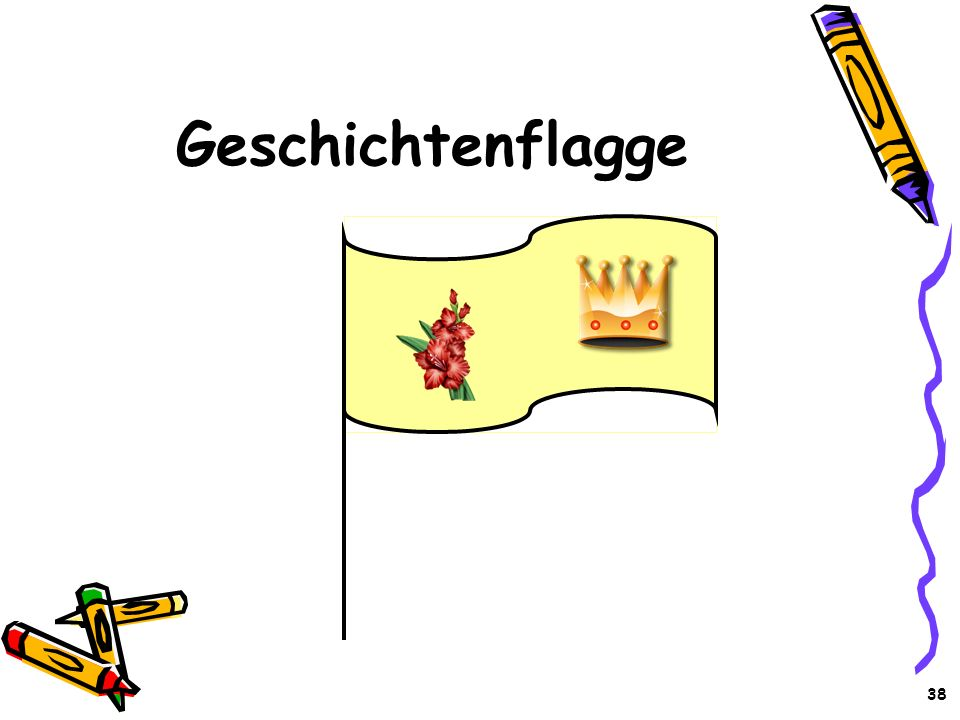 Geschichtenflagge