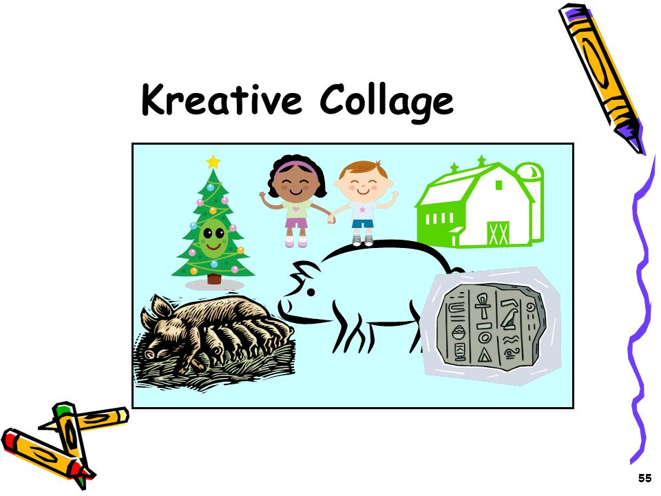 Kreative Collage