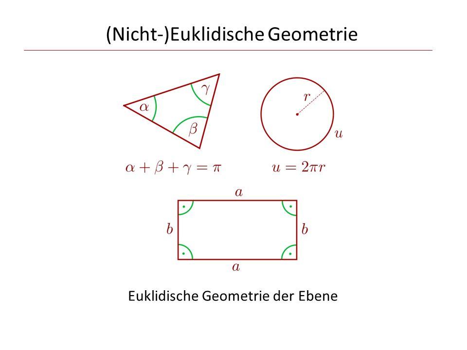 (Nicht-)Euklidische Geometrie