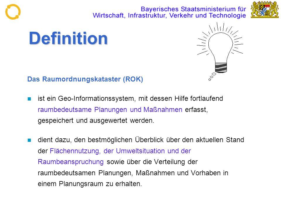 Definition Das Raumordnungskataster (ROK)