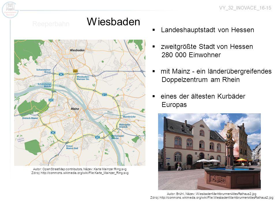Wiesbaden Reeperbahn Landeshauptstadt von Hessen