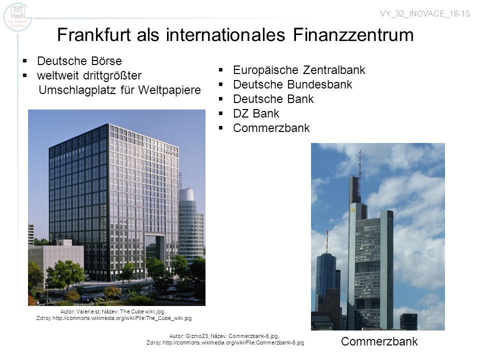 Frankfurt als internationales Finanzzentrum