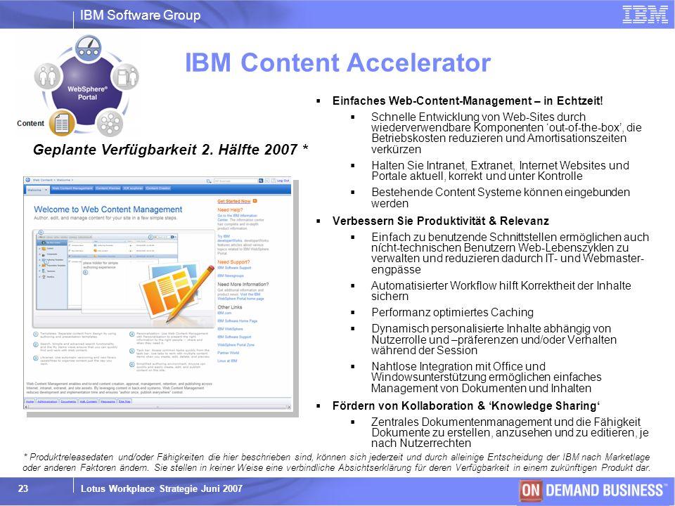 IBM Content Accelerator