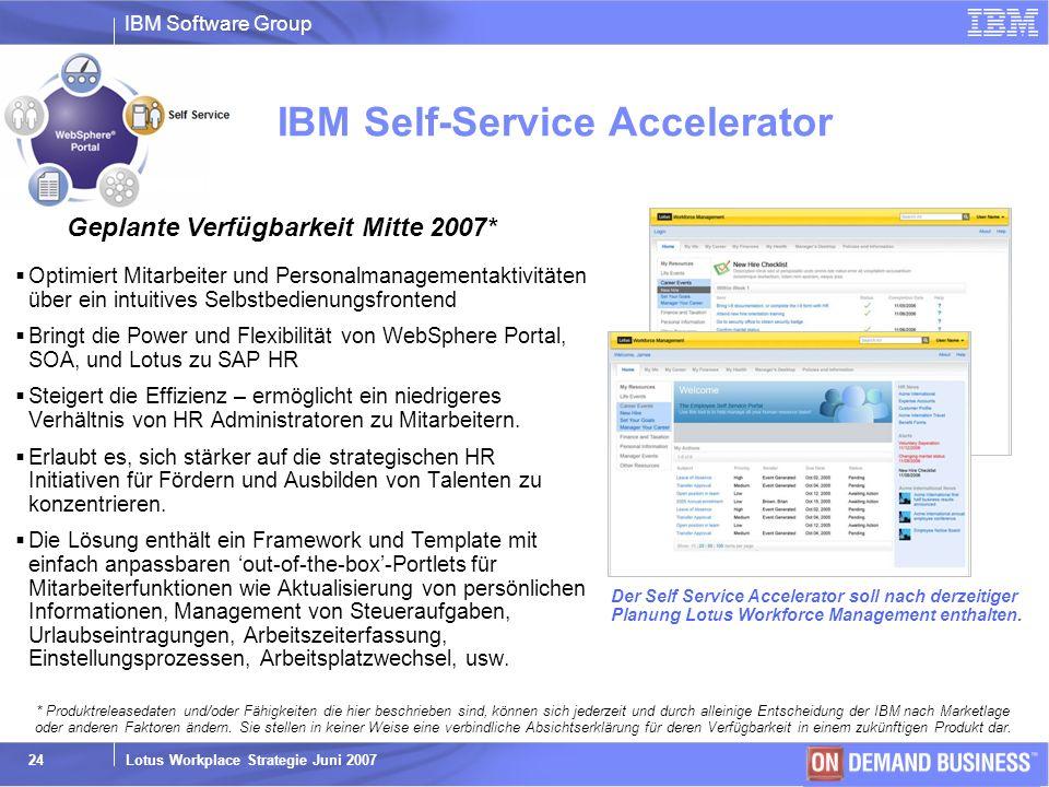 IBM Self-Service Accelerator