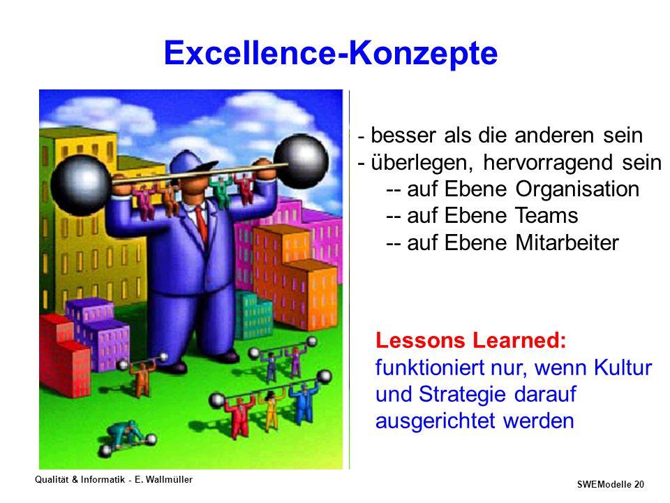 Excellence-Konzepte - besser als die anderen sein