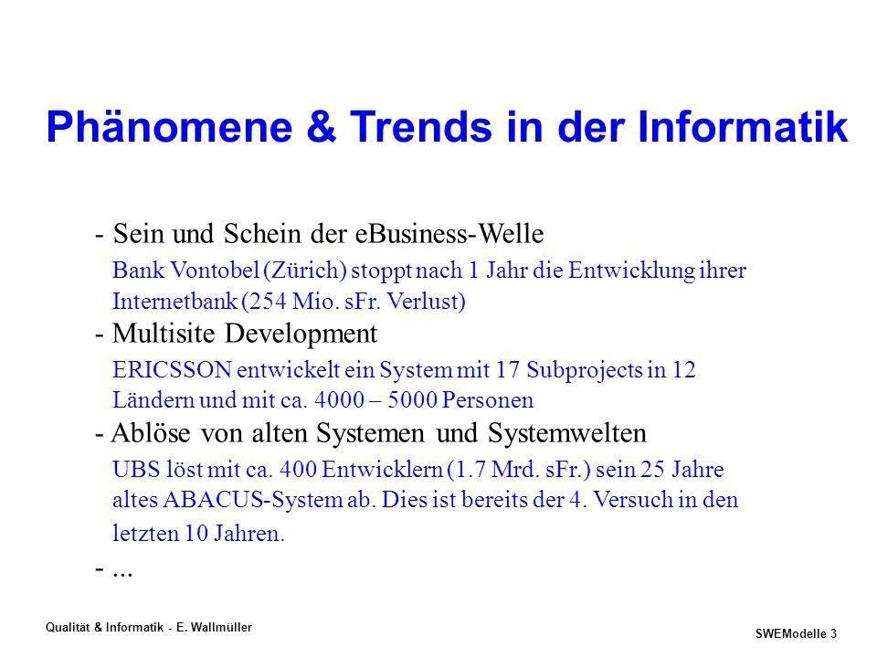 Phänomene & Trends in der Informatik