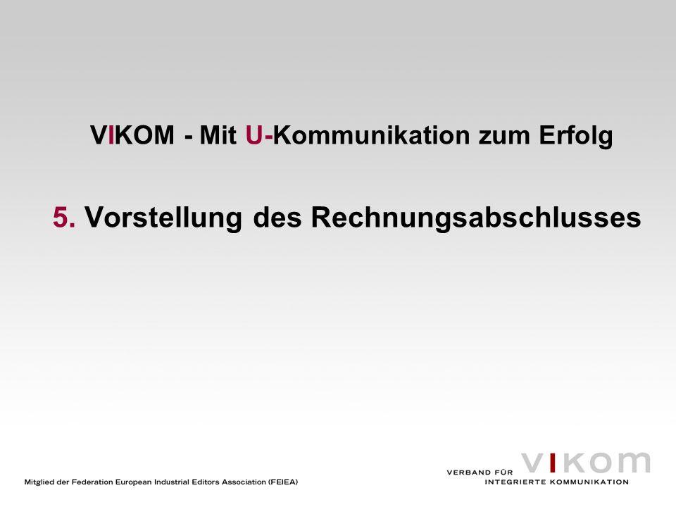 VIKOM - Mit U-Kommunikation zum Erfolg