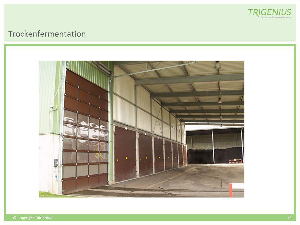 Trockenfermentation
