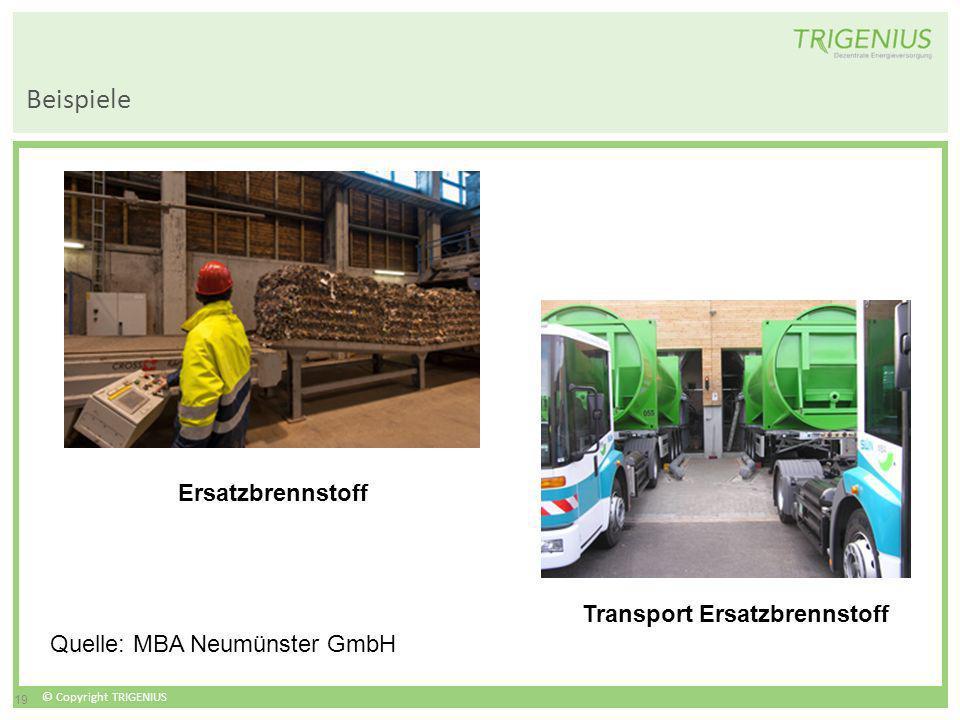 Transport Ersatzbrennstoff