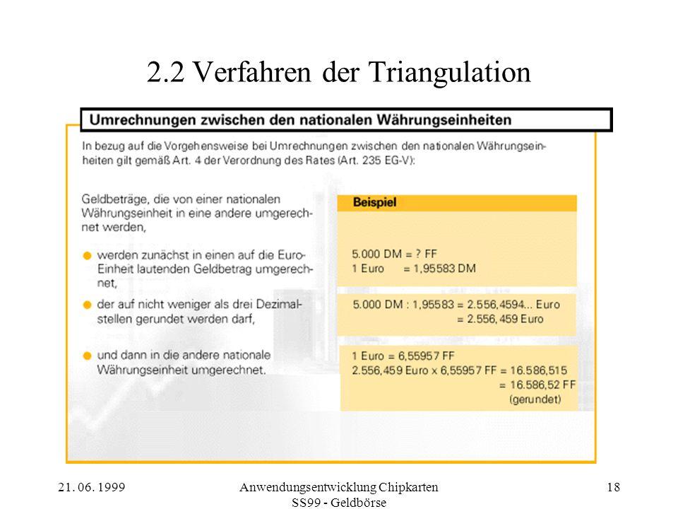 2.2 Verfahren der Triangulation