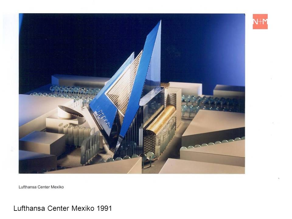 Lufthansa Center Mexiko 1991