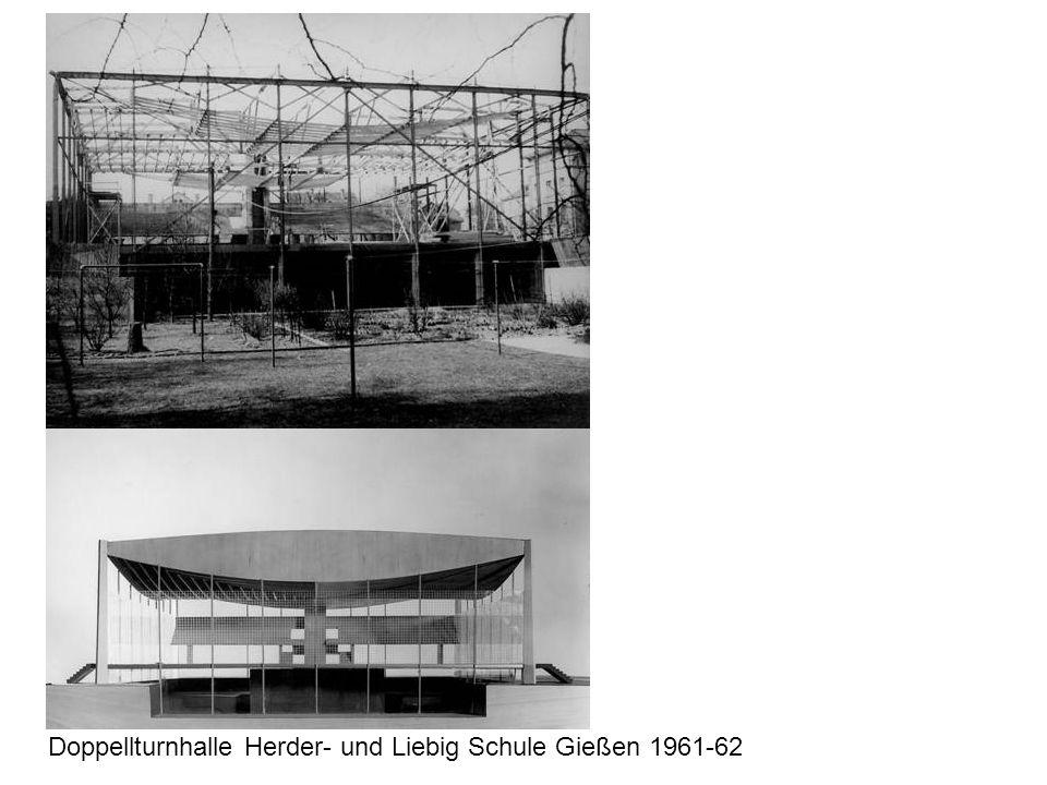 Doppellturnhalle Herder- und Liebig Schule Gießen 1961-62