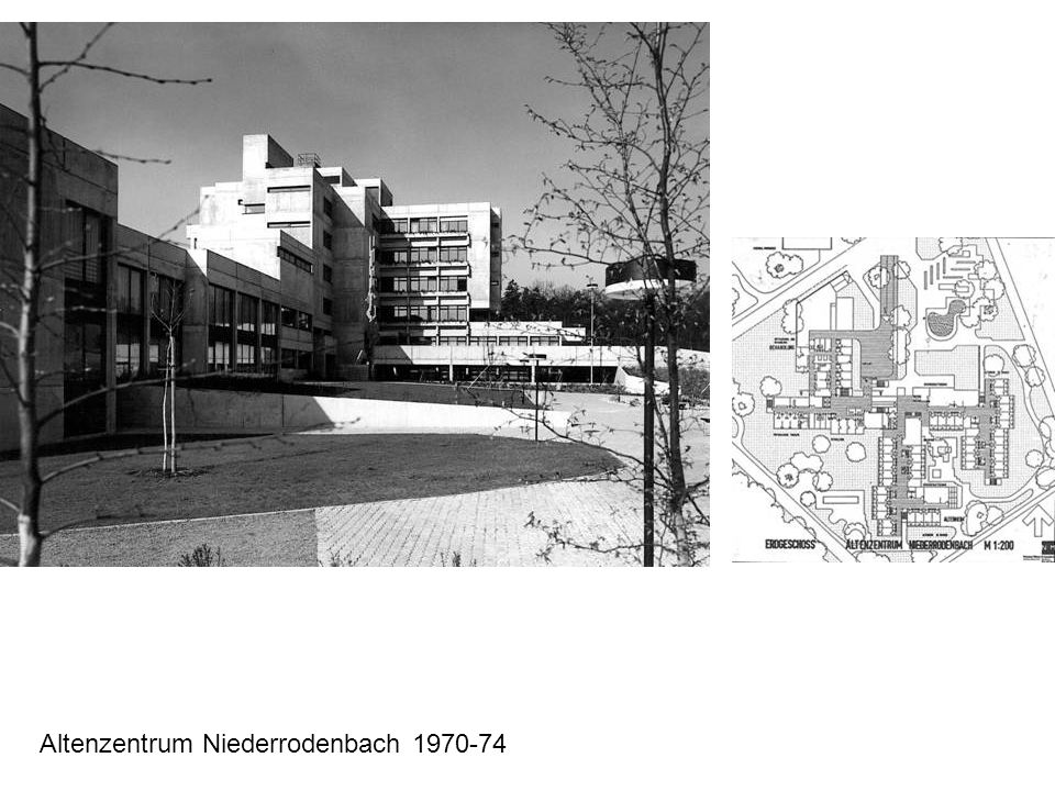 Altenzentrum Niederrodenbach 1970-74