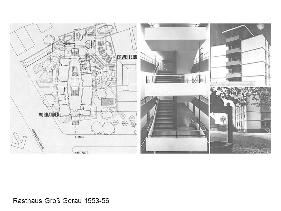 Rasthaus Groß Gerau 1953-56