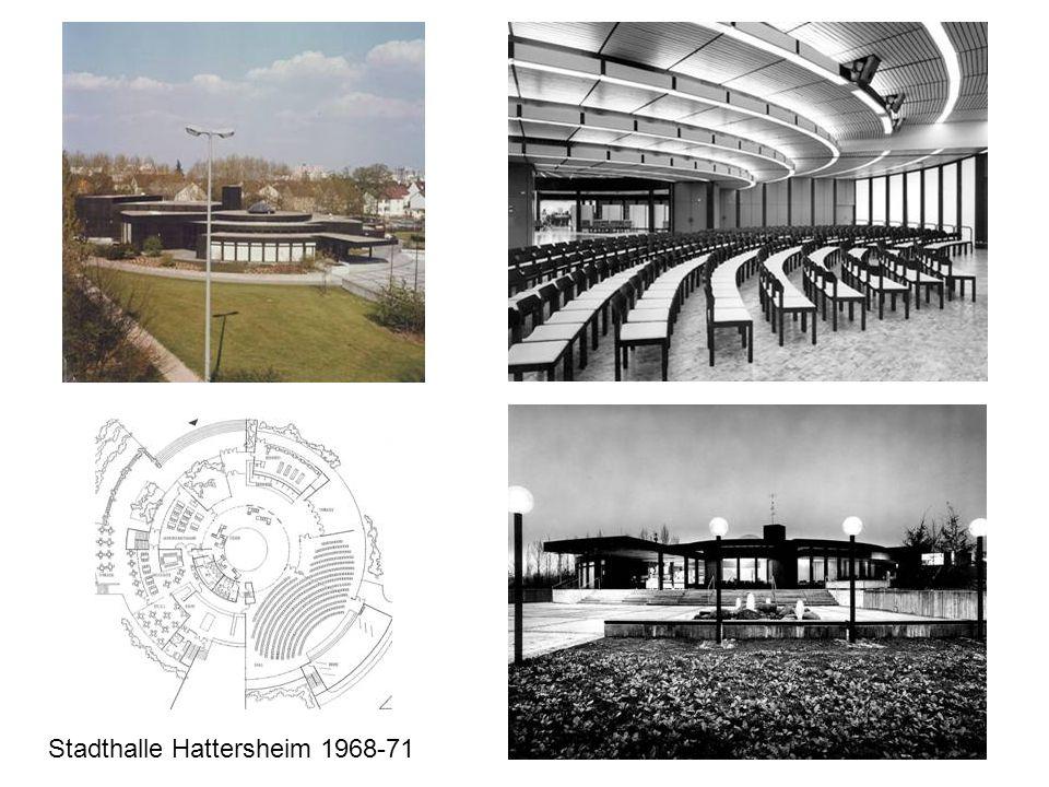 Stadthalle Hattersheim 1968-71