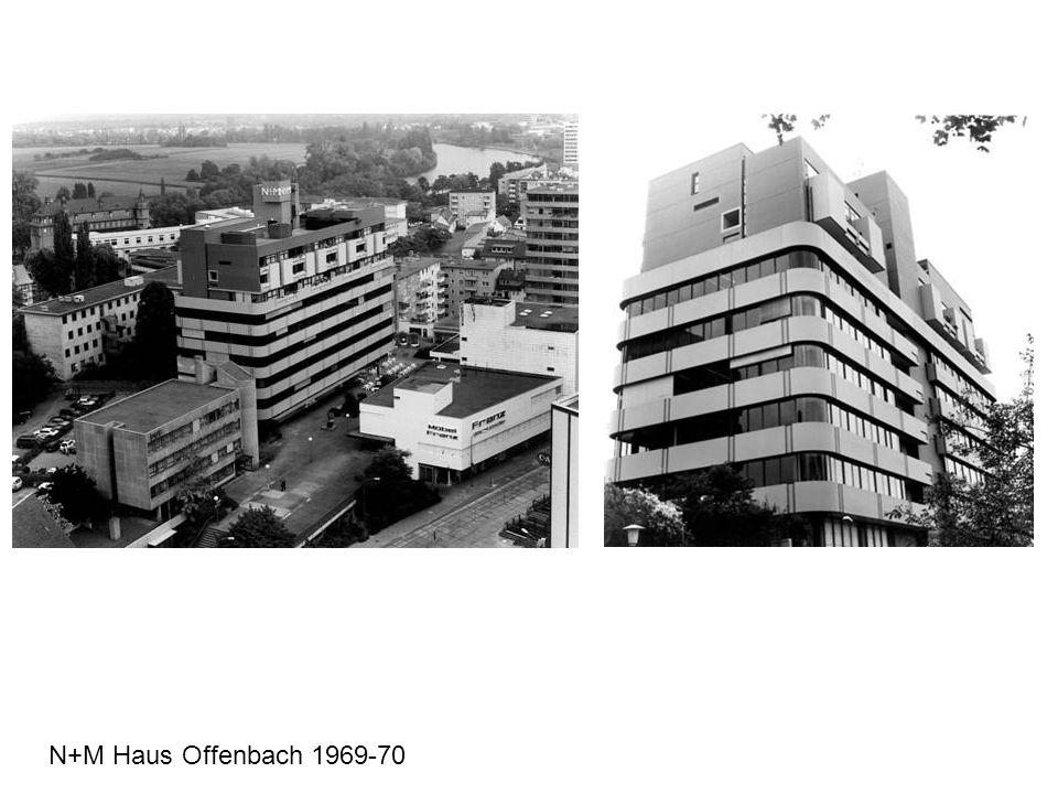 N+M Haus Offenbach 1969-70