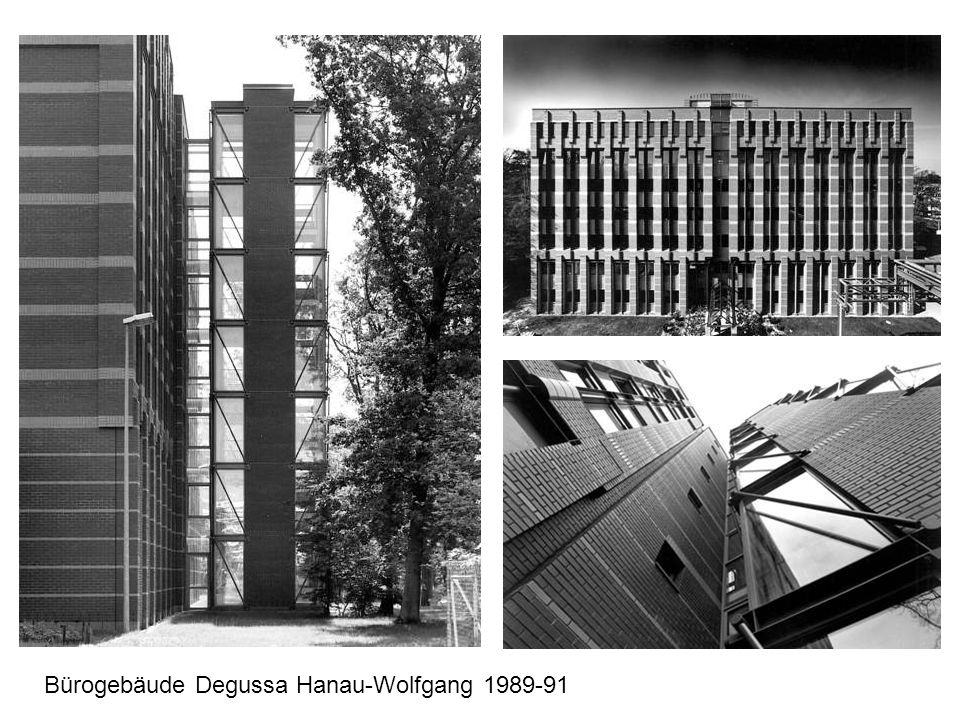 Bürogebäude Degussa Hanau-Wolfgang 1989-91