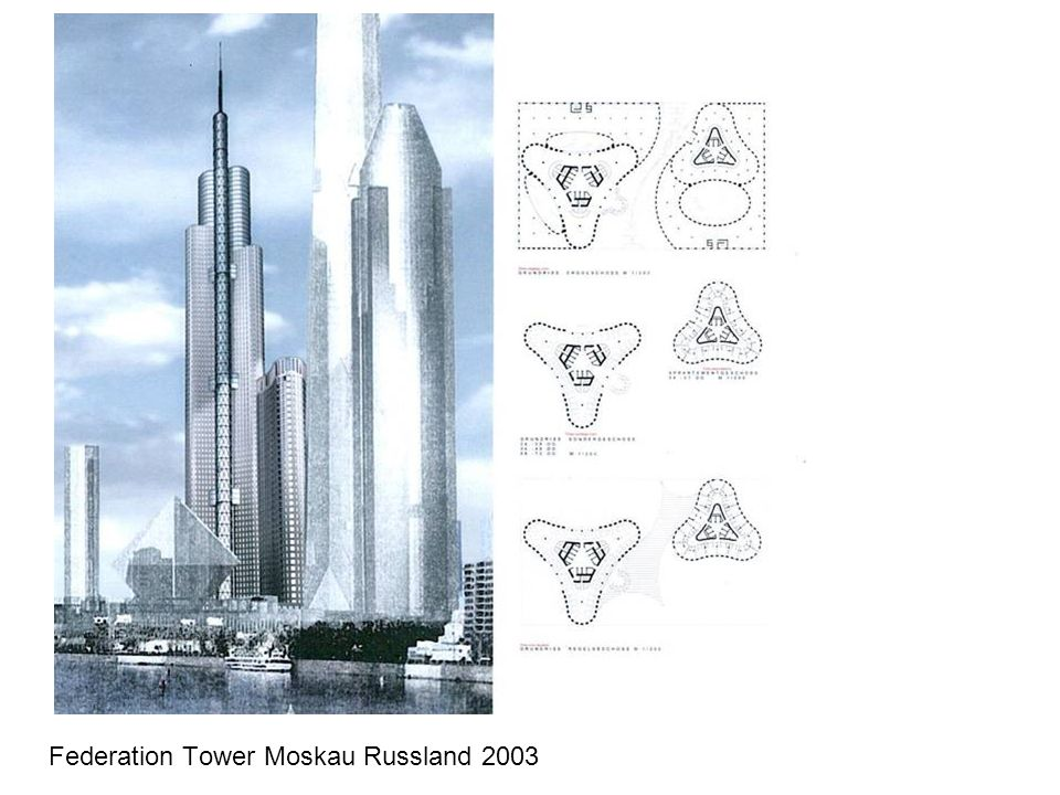 Federation Tower Moskau Russland 2003