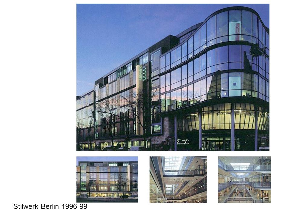Stilwerk Berlin 1996-99
