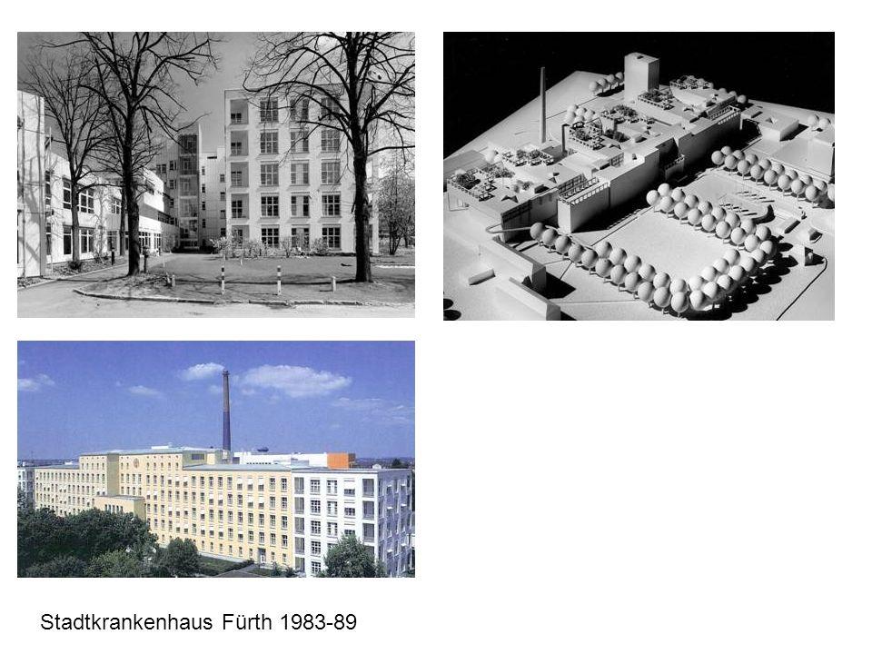 Stadtkrankenhaus Fürth 1983-89
