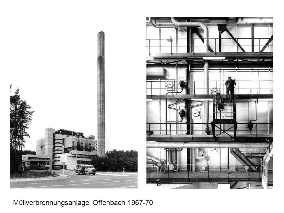 Müllverbrennungsanlage Offenbach 1967-70