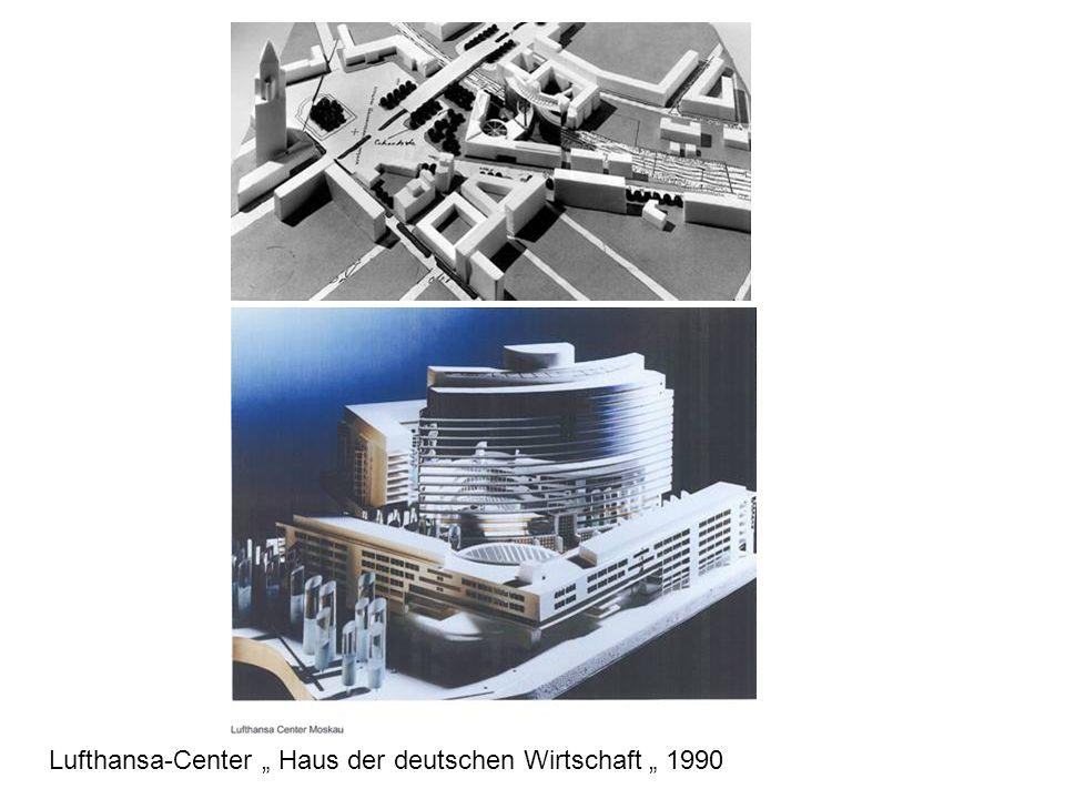 """Lufthansa-Center """" Haus der deutschen Wirtschaft """" 1990"""
