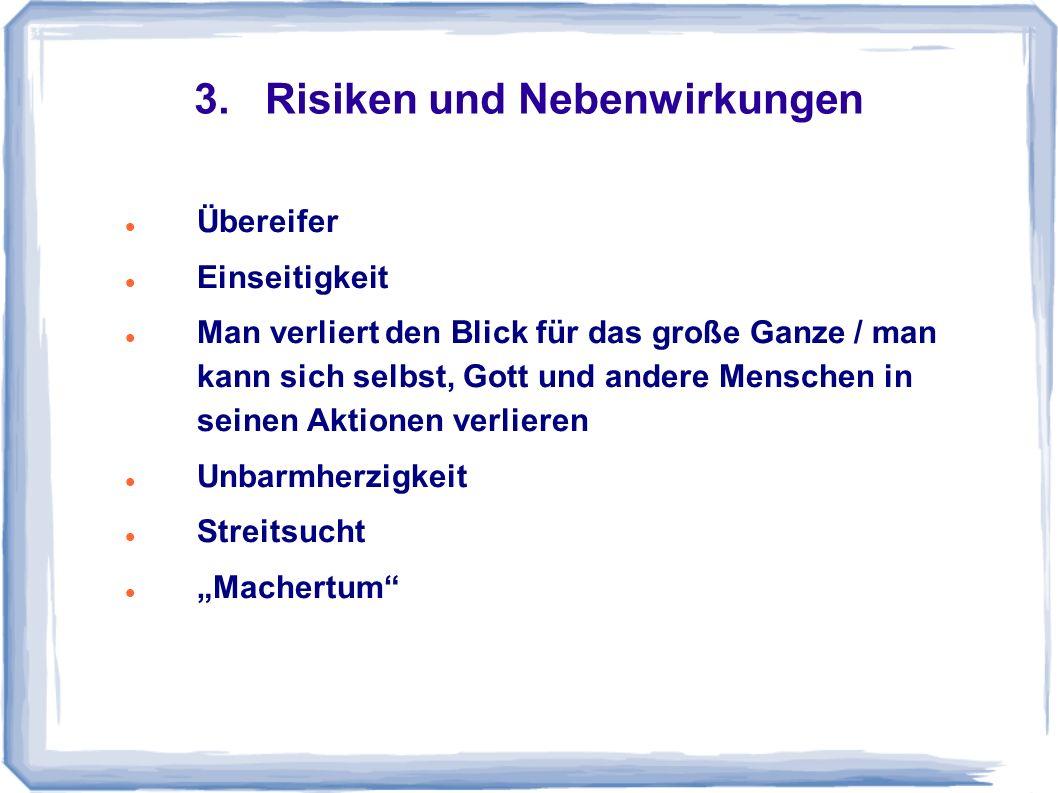 3. Risiken und Nebenwirkungen