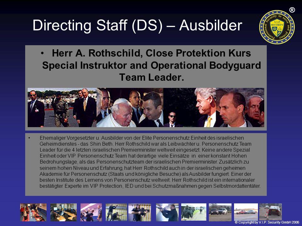 Directing Staff (DS) – Ausbilder