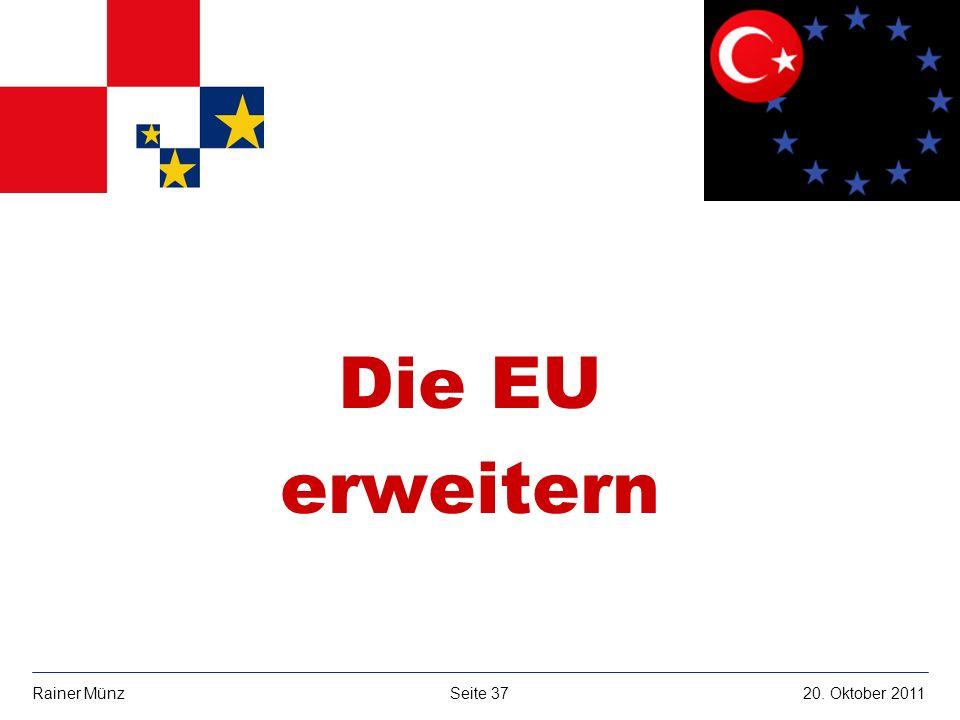 Die EU erweitern