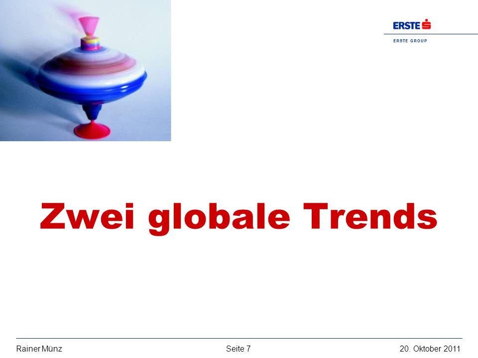 Zwei globale Trends