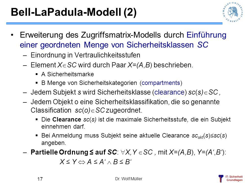 Bell-LaPadula-Modell (2)