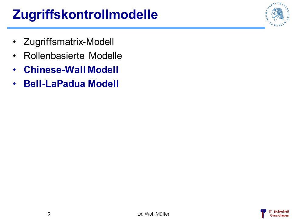 Zugriffskontrollmodelle