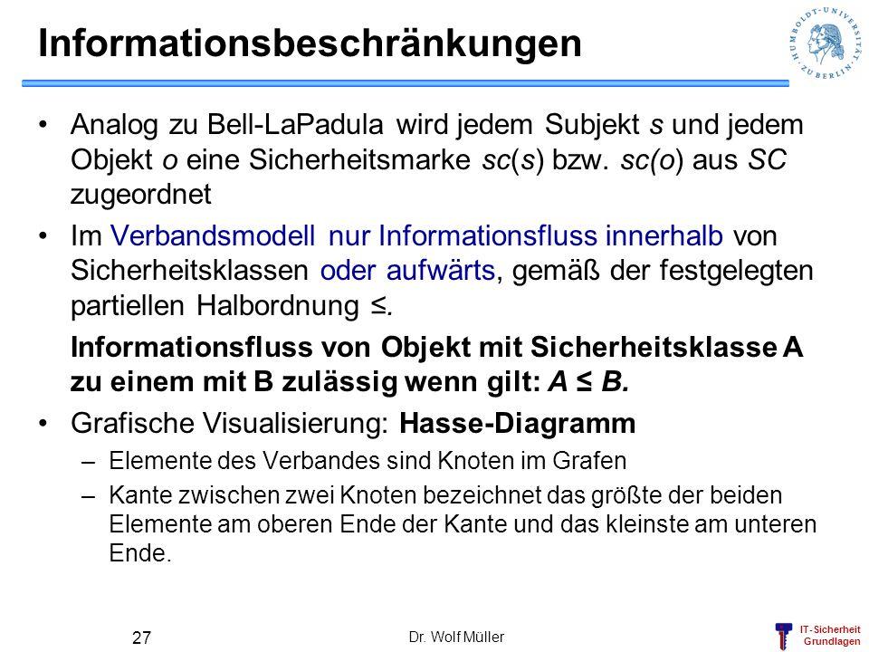 Informationsbeschränkungen