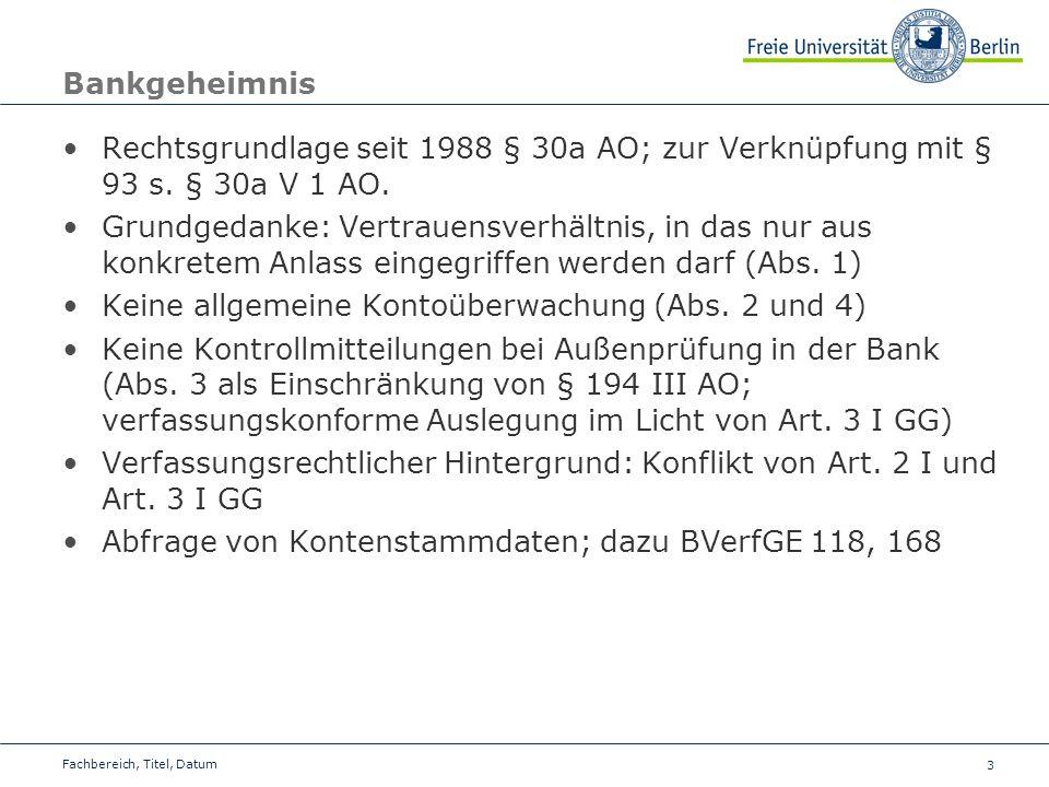 Keine allgemeine Kontoüberwachung (Abs. 2 und 4)