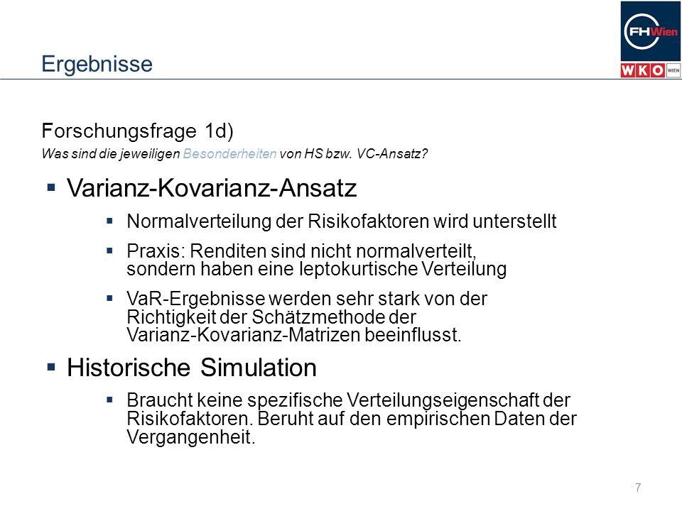 Varianz-Kovarianz-Ansatz