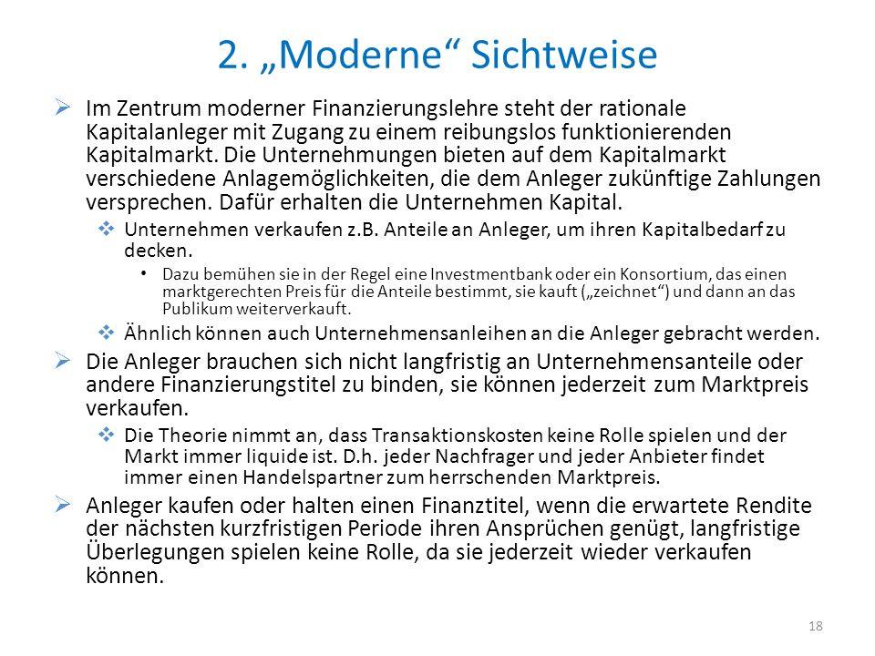 """2. """"Moderne Sichtweise"""