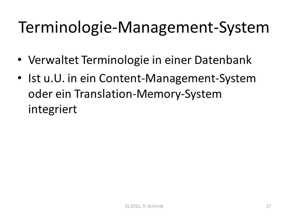 Terminologie-Management-System