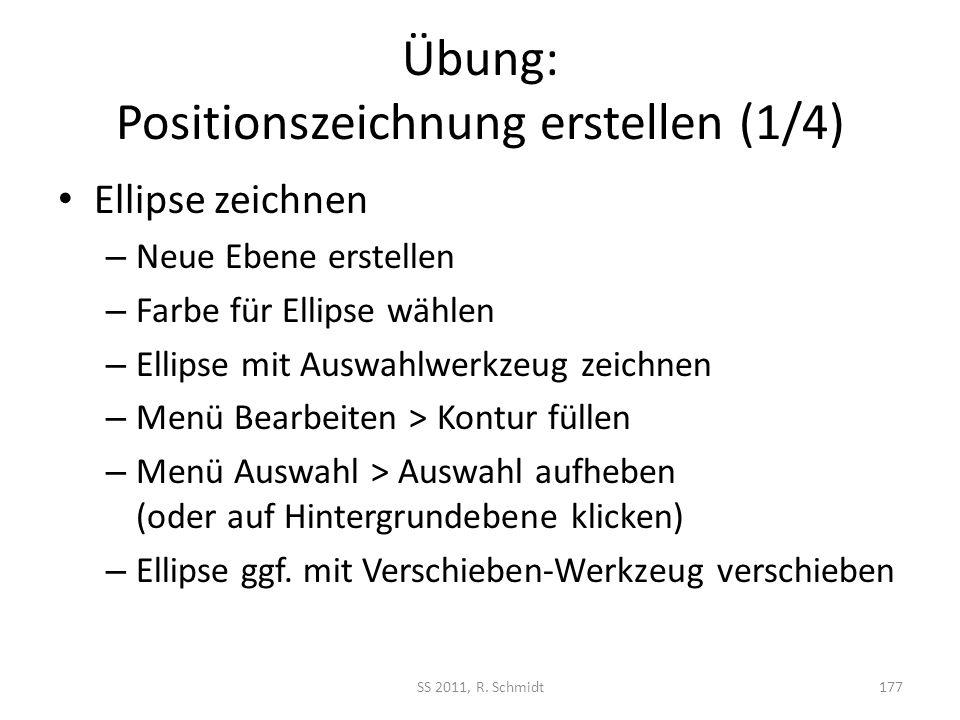 Übung: Positionszeichnung erstellen (1/4)