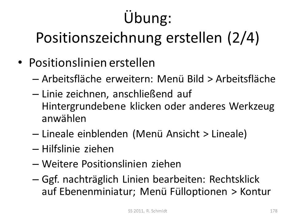 Übung: Positionszeichnung erstellen (2/4)