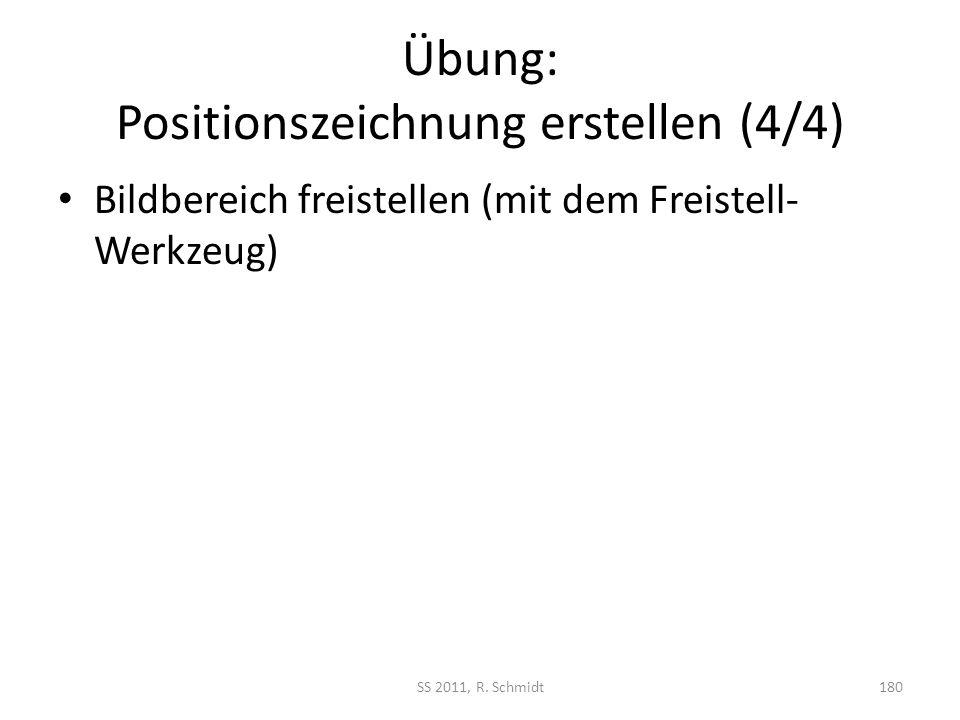 Übung: Positionszeichnung erstellen (4/4)
