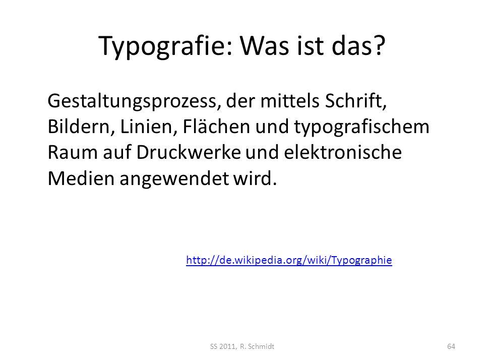 Typografie: Was ist das