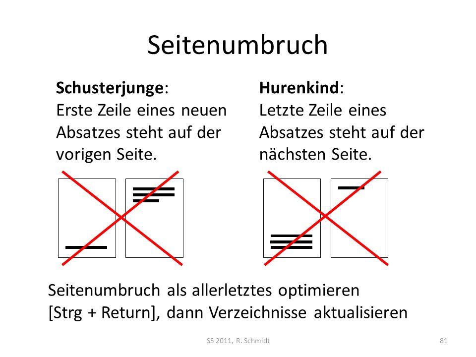 Seitenumbruch Schusterjunge: Erste Zeile eines neuen Absatzes steht auf der vorigen Seite.