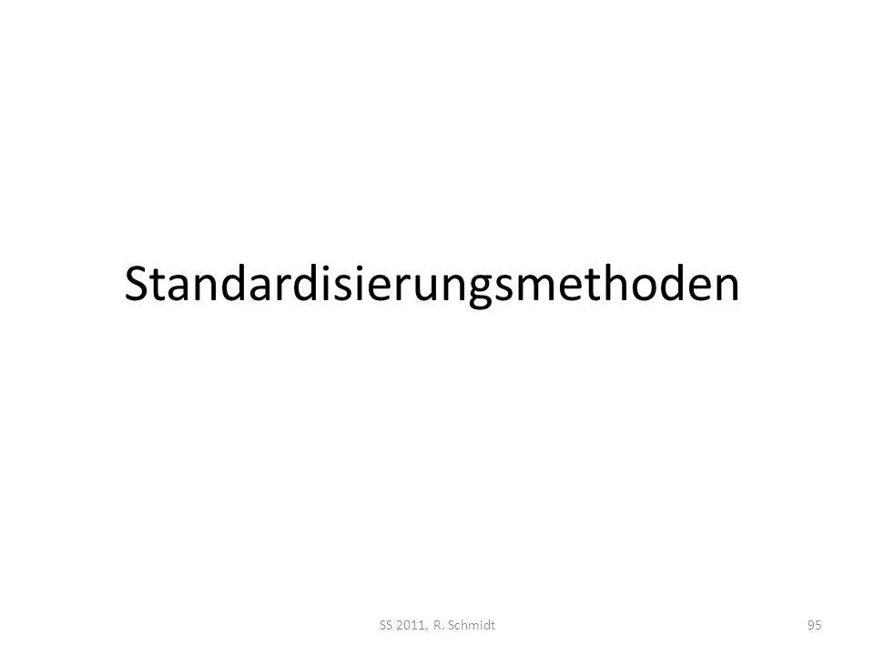 Standardisierungsmethoden
