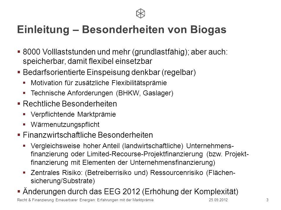 Einleitung – Besonderheiten von Biogas