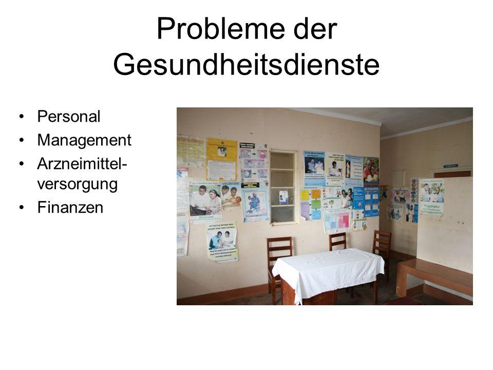 Probleme der Gesundheitsdienste