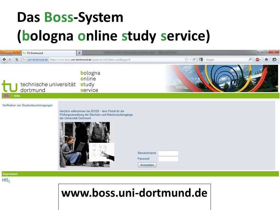 Das Boss-System (bologna online study service)