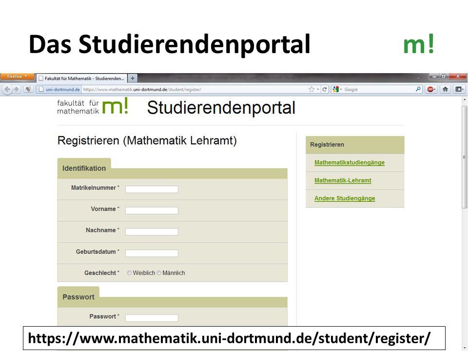 Das Studierendenportal m!