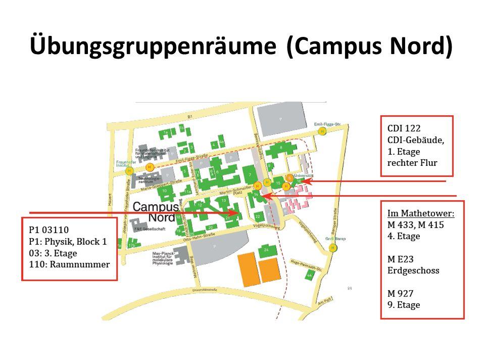 Übungsgruppenräume (Campus Nord)