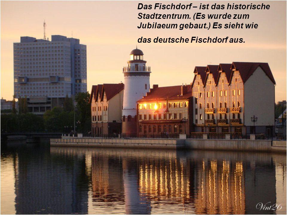 Das Fischdorf – ist das historische Stadtzentrum